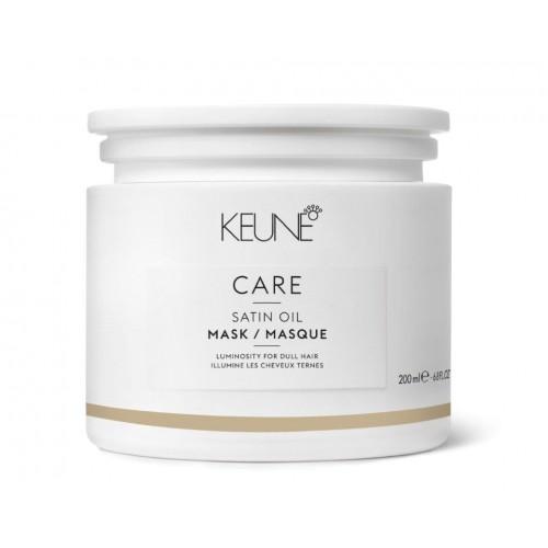 Mască De Strălucire și Hrănire Pentru Păr Deshidratat - Satin Oil Mask - Keune - 200 Ml