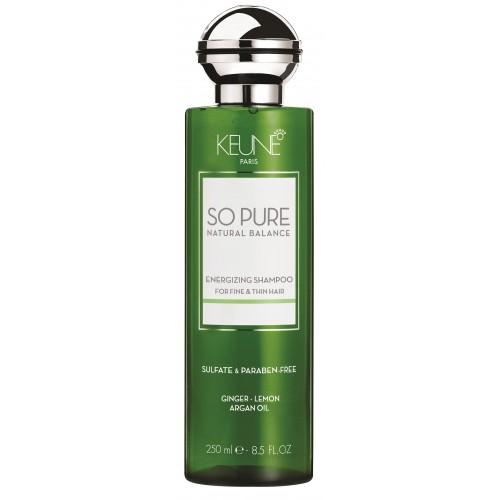 Șampon Energizant - Energizing Shampoo - So Pure - Keune - 250 Ml