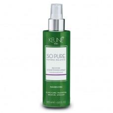 Spray reparator fara clatire pentru par degradat - Recover Conditioning Spray - So Pure - Keune - 200 ml