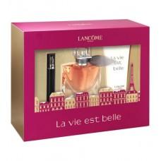Set apa de parfum + lotiune de corp + mascara pentru femei - La Vie Est Belle - Lancome - 50 ml + 50 ml + 2 ml