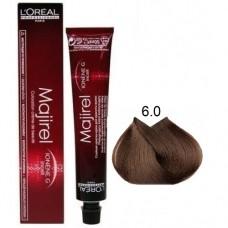 6.0 - Majirel - L'oreal Professionnel - Vopsea profesionala - 50 ml