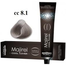8.11 - Cool Cover - Majirel - L'oreal Professionnel - Vopsea profesionala - 50 ml