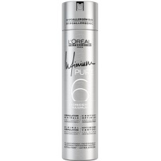 Fixativ anti-alergic cu fixare extra - Extra Strong Hairspray - Infinium Pure - L'Oreal Professionnel - 500 ml