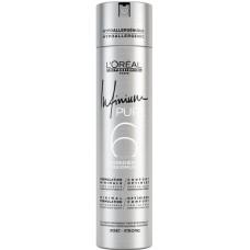 Fixativ anti-alergic cu fixare puternica - Strong Hairspray - Infinium Pure - L'Oreal Professionnel - 500 ml
