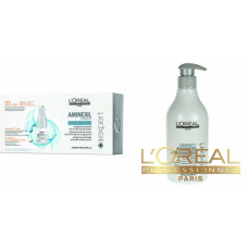 Kit anti cadere par si redensifiere imediata - sampon + fiole - Density Advanced -  L'oreal Professionnel - Density Advanced - L'Oréal Professionnel - 2 produse cu 10% discount
