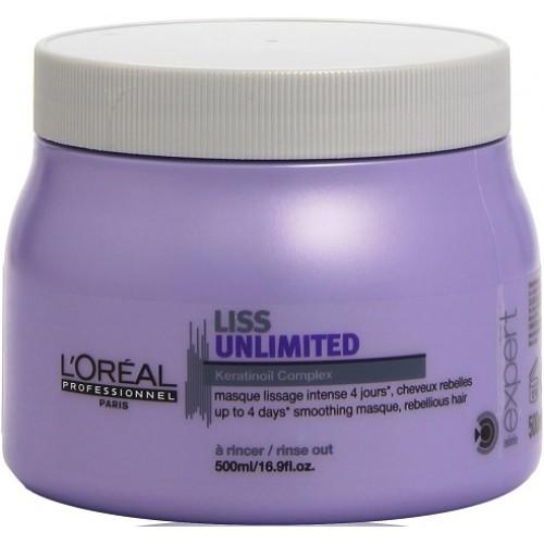 Masca De Netezire - Keratinoil Complex Masque - Liss Unlimited - L'oreal Professionnel - 500 Ml