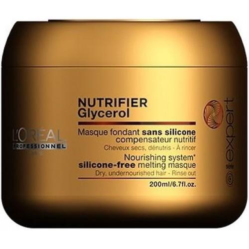 Masca Nutritiva - Masque Fondant - Nutrifier Glycerol - L'oreal Professionnel - 200 Ml