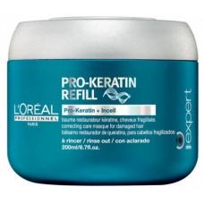 Masca Protectoare Pro Keratin Refill Serie Expert L'oreal Professionnel 200 ml
