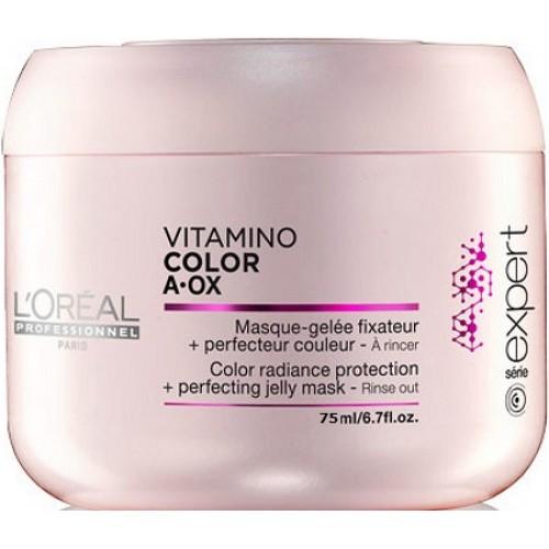 Masca Fixatoare De Culoare - Color Protection Mask - Vitamino Color Aox - L'oreal Professionnel  - 75 Ml
