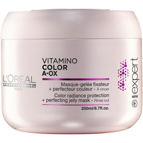 Masca Fixatoare De Culoare - Color Protection Mask - Vitamino Color Aox - L'oreal Professionnel - 200 Ml