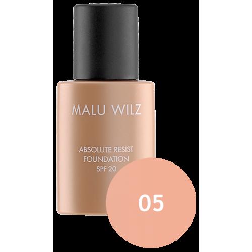 Fond De Ten Ultra Rezistent Spf 20 Absolute Resist Foundation 05 Malu Wilz