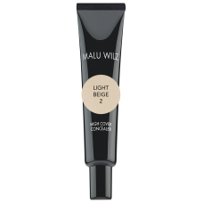 Anticearcan fluid cu finish mat (fara parabeni sau talc) - High Cover Concealer - Malu Wilz - 10 ml - Nr. 2