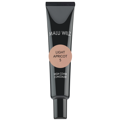 Anticearcan Fluid Cu Finish Mat (fara Parabeni Sau Talc) - High Cover Concealer - Malu Wilz - 10 Ml - Nr. 5