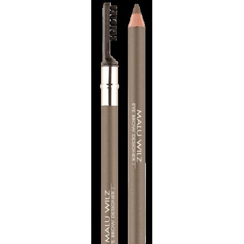 Creion Pentru Sprancene Cu Periuta - Eyebrow Designer 2 - Malu Wilz