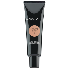 Fond de ten fluid cu acid hialuronic (fara parabeni) - High Cover Foundation - Malu Wilz - 30 ml - Nr. 03