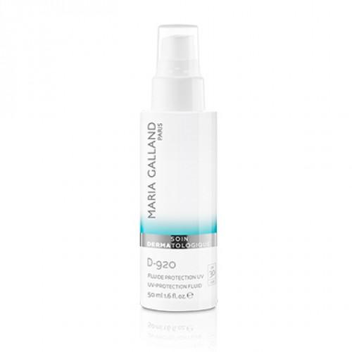 Fluid Cu Protectie Solara - Spf 30 - D-920 - Uv-protection Fluid - Soin Dermatologique - Maria Galland - 50 Ml