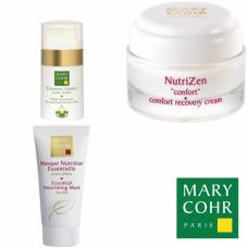 Kit nutritiv pentru ten uscat - Specific nourishment - Mary Cohr - 3 produse cu 20% discount