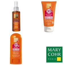 Kit ulei + stick + crema protectie solara - Specific sun protection - Mary Cohr - 3 produse cu 55% discount