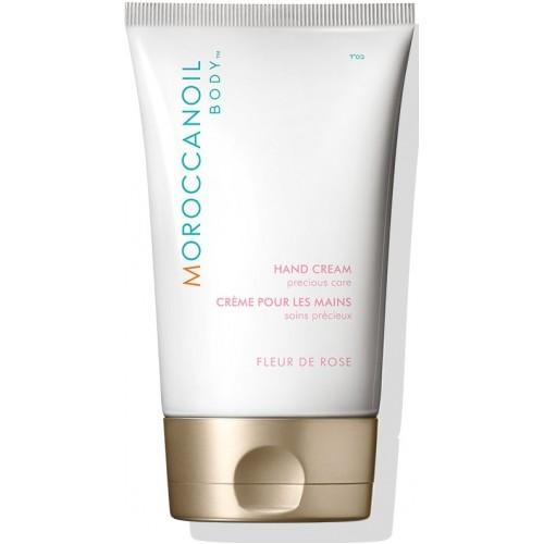 Crema De Maini Antioxidanta Si Hidratanta - Hand Cream - Fleur De Rose - Body Line - Moroccanoil - 125 Ml