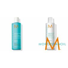 Kit pentru par degradat - sampon si balsam reparator - 2 x 250 ml - Repair Line - Moroccanoil - 2 produse cu 10% discount