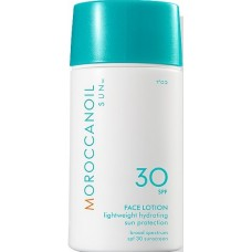 Lotiune de fata hidratanta cu protectie solara medie - Face Lotion - SPF 30 - Sun - Moroccanoil - 50 ml