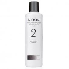 Balsam Pentru Par Natural Cu Structura Fina SYS 2 Revitaliser Nioxin 300 ml