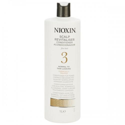 Balsam Pentru Par Tratat Chimic Cu Structura Fina Sys 3 Revitaliser Nioxin 1000 Ml