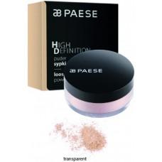 Pudra pulbere pentru fixare (efect mat) - High Definition Loose Powder - Paese - 15 gr - Transparent