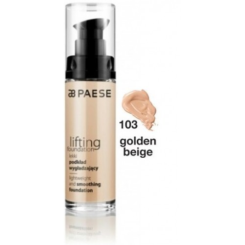 Fond De Ten Cu Efect De Lifting - Lifting Foundation - Paese - 30 Ml - Nr. 103