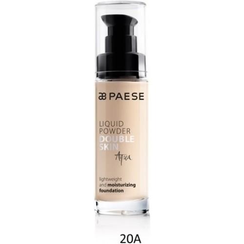 Fond De Ten Hidratant Cu Vitamine (ten Uscat) - Liquid Powder Double Skin Aqua - Paese - 30 Ml - Nr. 20a