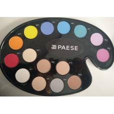 Paleta de farduri intens pigmentate (fara parabeni) - Kashmir Mono Neo Make-Up Palette - Paese - 15 colors