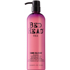 Balsam pt. par blond tratat chimic - Reconstructor for Chemically Treated Hair - Dumb Blonde - Tigi - 750 ml