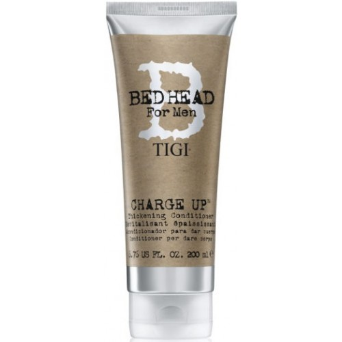 Charge Up Thickening Conditioner - Bed Head For Men - Tigi - 200 Ml