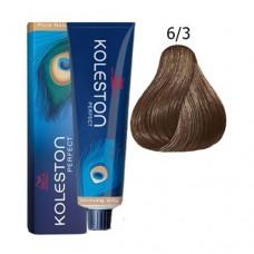 6/3 - Koleston Perfect - Wella Professionals - Vopsea Profesionala 60 ml