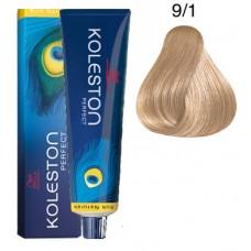 9/1 - Koleston Perfect - Wella Professionals - Vopsea Profesionala 60 ml