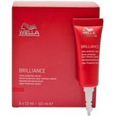 Ser Pentru Protejarea Culorii Brilliance Color Protection Serum Wella 6 x 10 ml