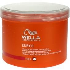 Tratament Hidratant Pentru Par Aspru Enrich Moisturising Treatment Wella 500 ml